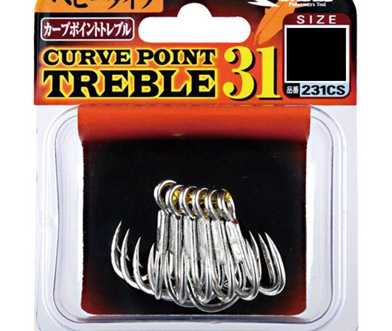Anzol Garateia Shout Curve Point Treble