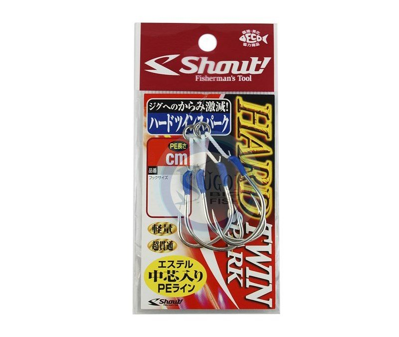 Suporte Hook Shout Hard Twin Spark – Light Jig